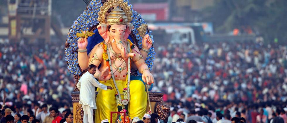 Representative image of Ganesh Chaturthi celebrations in Mumbai