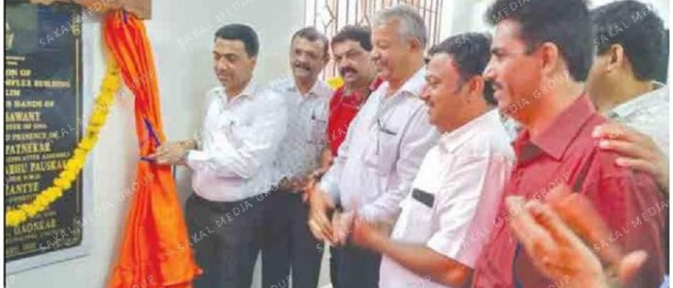 New PWD building opened at Bicholim