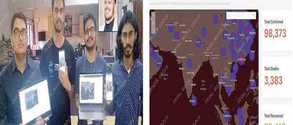 Goa's engg students develop real-time Coronavirus tracker
