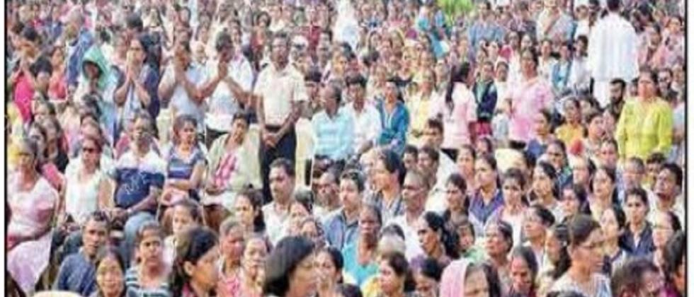 25,000 faithful participate in Goa Archdiocesan Walking Pilgrimage