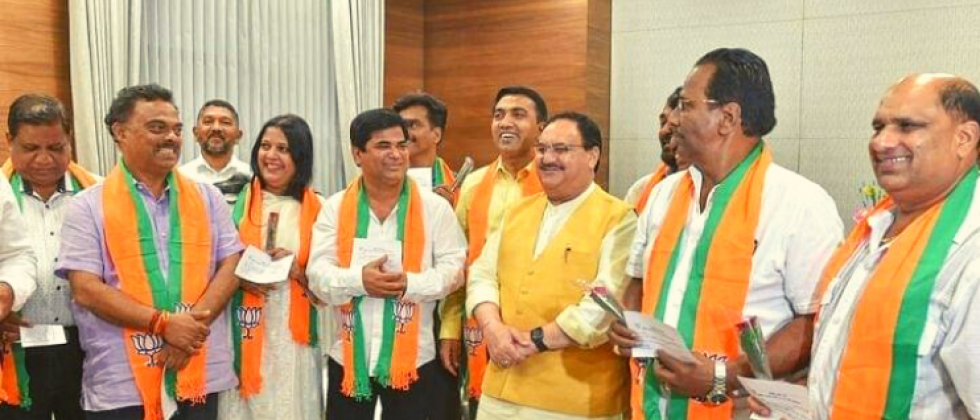 10 ex-Congress MLAs who joined BJP in 2019 in Goa