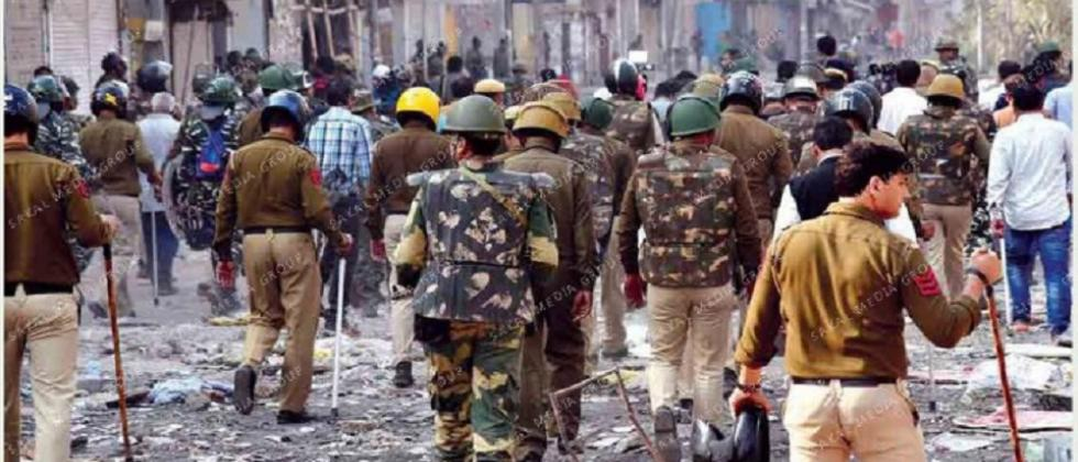 Delhi violence ebbs but doesn't subside