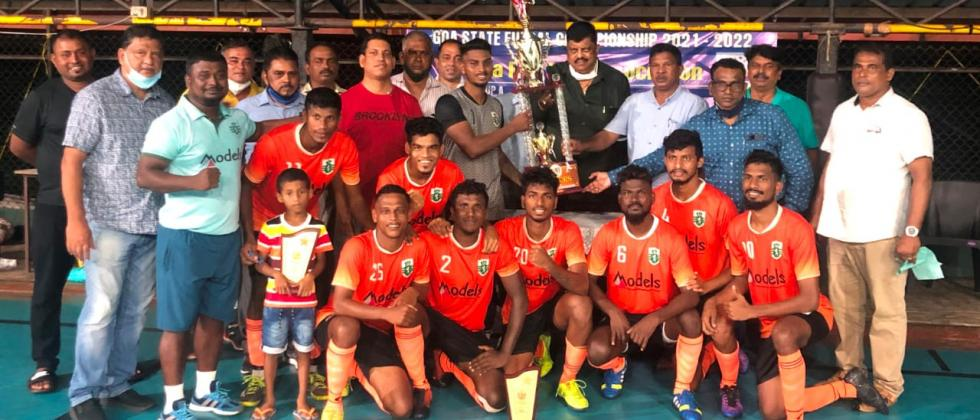 Sporting Club  can represent Goa at the All India Football Federation National Futsal tournament