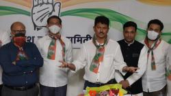 Former Goa AAP convener Elvis Gomes joined the Congress on Sunday, August 8, 2021