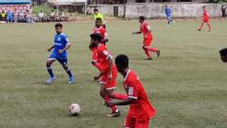 Snippet from the match between Youth Club of Manora and Calangute Association