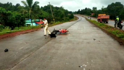 Youth died in a road accident in Pernem on Thursday, September 23, 2021