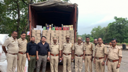 Pernem Excise Department seized a consignment of 300 boxes of beers and foreign-made liquor, worth Rs 12 lakhs at Patra Devi check post in the early of Thursday.
