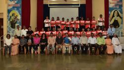 The Karuna Football Foundation's Residential Football Academy for underprivileged girls in Goa was inaugurated on Sunday