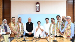 Luizinho Faleiro, and 10 other leaders from Goa joined Trinamool Congress on Wednesday, September 29 in Kolkata.