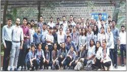 Don Bosco College of Engg students visit plumbing laboratory at Pune