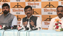 Sanjay Raut addressed a press conference on Friday, October 1, 2021