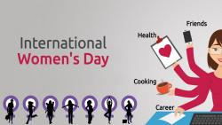 International Women's Day on Ravindra Bhavan, Margao