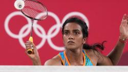 Tokyo: India's Pusarla V. Sindhu in action in the womens singles badminton match against Hong Kong China's Ngan Yi Cheung, at the Summer Olympics 2020, in Tokyo, Wednesday, July 28, 2021. Sindhu won the match 21-9, 21-16. (PTI)