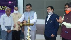 Pramod Sawant inaugurated the, 'Demystifying the NAAC Assessment and Accreditation', in Panaji on Wednesday, August 11, 2021