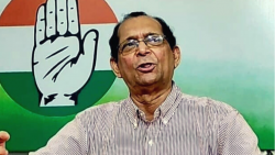 South Goa MP Francisco Sardinha addressed a press conference in Margao on Wednesday, september 22, 2021