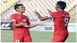 Early goals seal 3 points for Churchill vs Real Kashmir