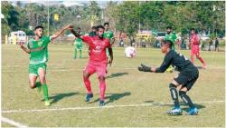 Salgaocar FC rally to hold Churchill