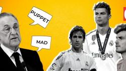 Real Madrid president Florentino Perez is the centre of another controversy (Gomantak Times)