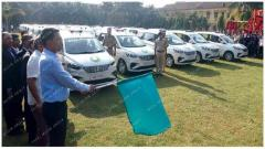 CM inducts 44 new vehicles in Goa police