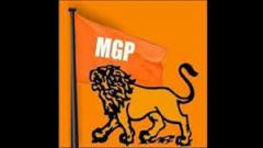 MGP holds protest over Mhadei river at Valpoi