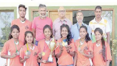 Govt College Quepem women athletes shine
