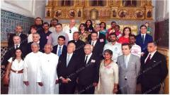 Portuguese President visits churches in Old Goa