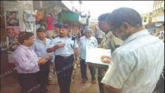 MMC, police request shop owners not to block traffic movement