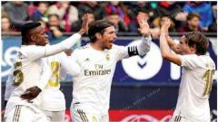 Ruthless Real Mardid down Osasuna for fifth straight win