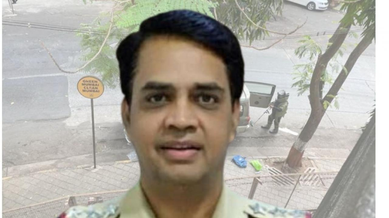 Mumbai Police Officer Sunil Mane Arrested in Antilia Bomb Case