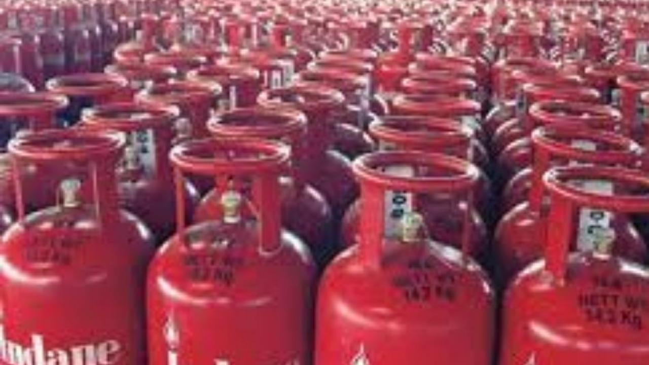 Gas cylinder prices fell