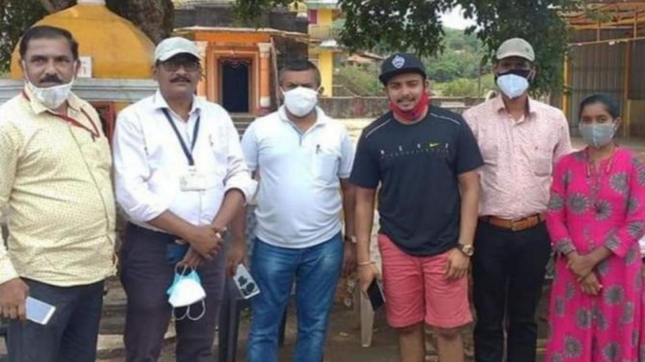 Sindhudurg Administration Stopped Prithvi Shaw for E pass