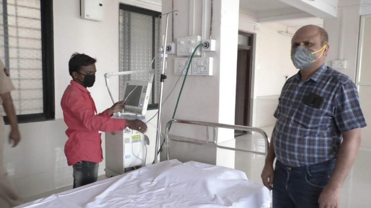 Oxygen audit of 12 Covid Hospital completed