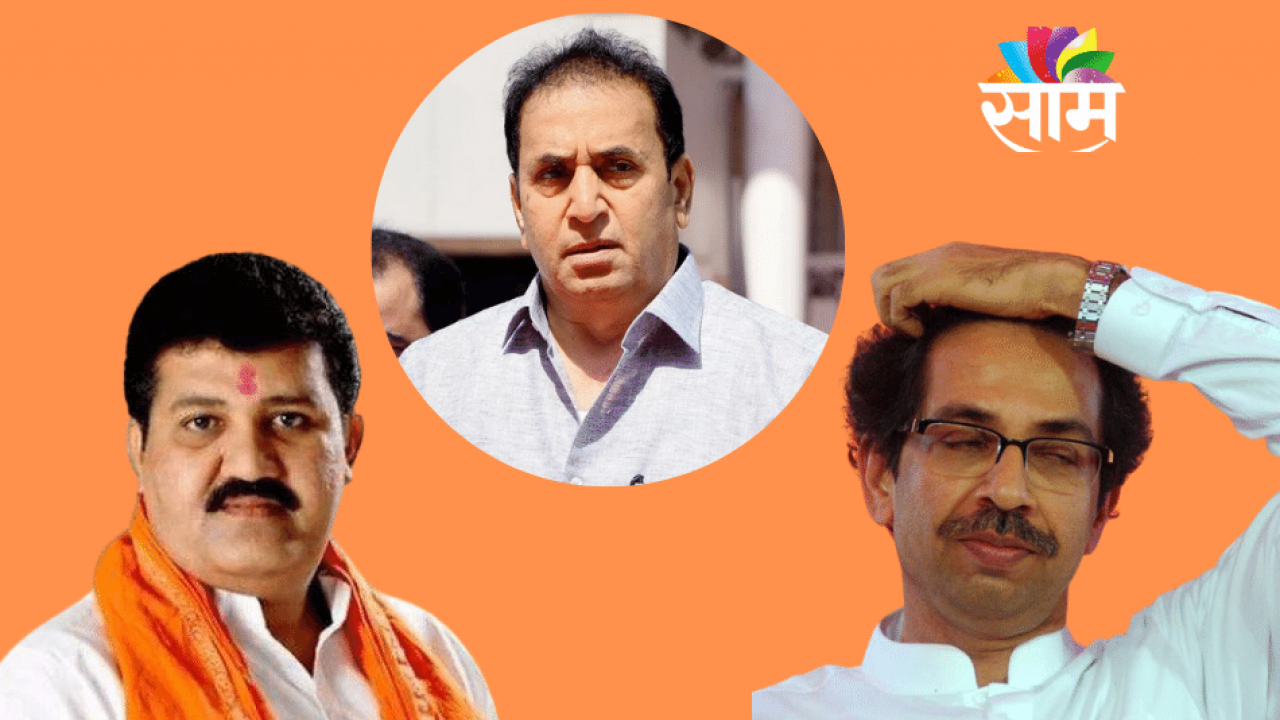 Sanjay Rathod - Anil Deshmukh- Uddhav Thackeray
