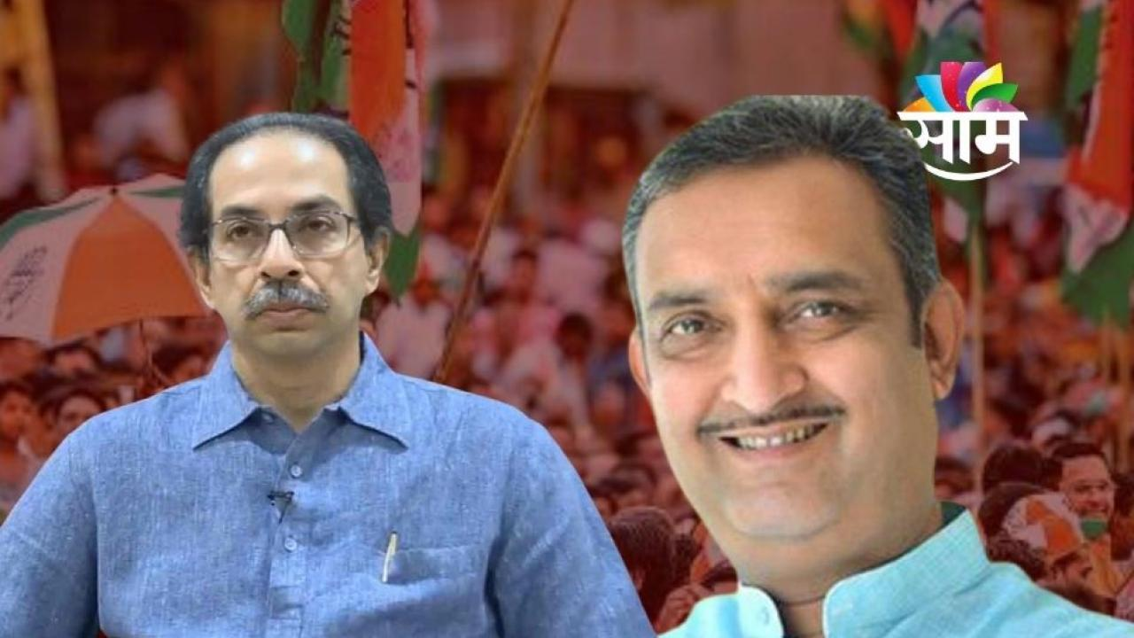 Uddhav Thackeray - Prashant Paricharak