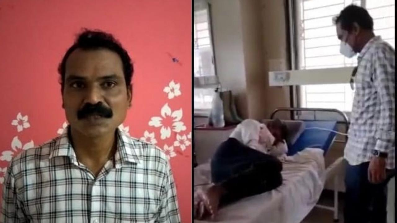 Rajesh has done a great job of boosting the morale of the corona patients