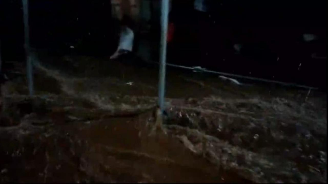 Gandharpale Citizens are experiencing the bad impact of rain water