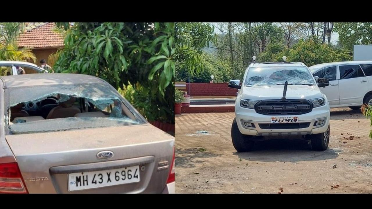 Vehicles Ransacked in Raigad over POSCO Company Scrap Row