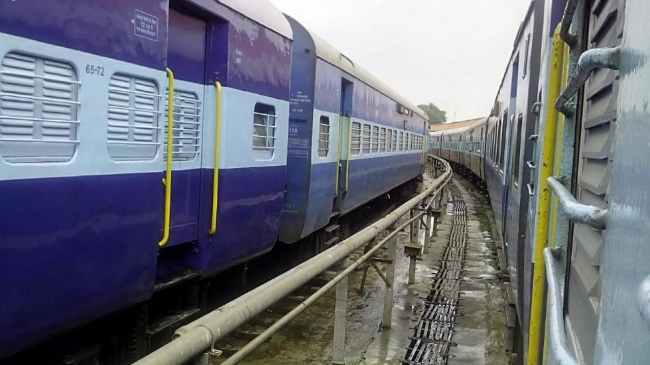 In Indian railways thousands of employees get infected every day due to Covid