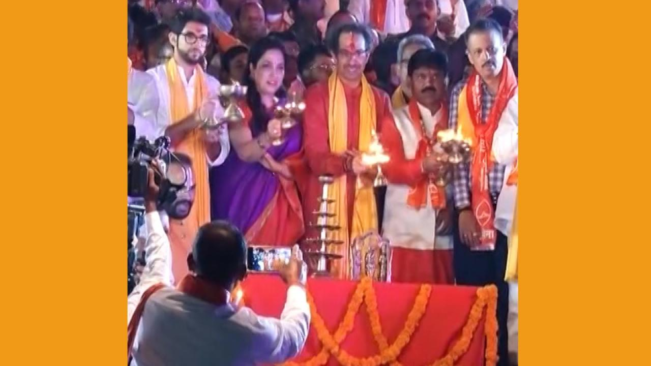 uddhav ghoshna on ram mandir