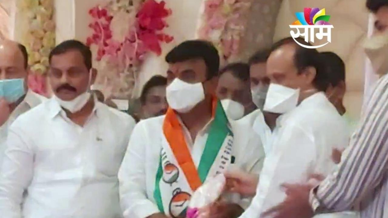 BJP Leader Kalyan Kale Enters NCP