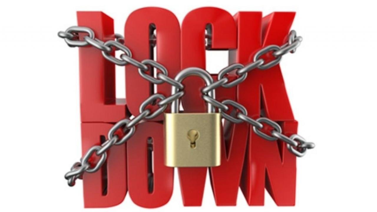 New Lock Down rules to be Implemented from Today