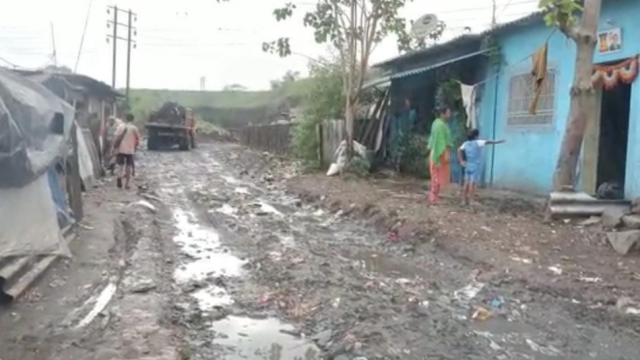 Contaminated water from dumping ground waste in citizens homes