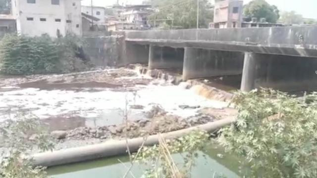 Administration neglecting cleanliness of the Valadhuni river