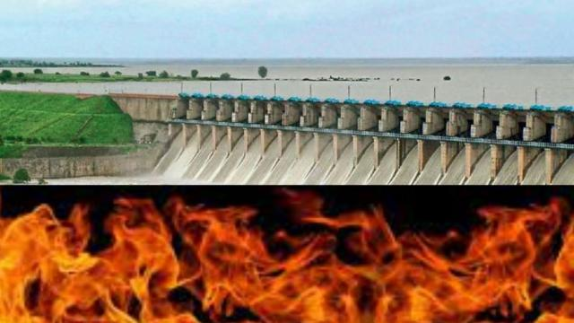 Ujani Dam Water issue becoming Hot