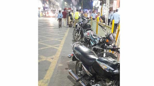 Pune, Traffic Rule Violation , No Parking