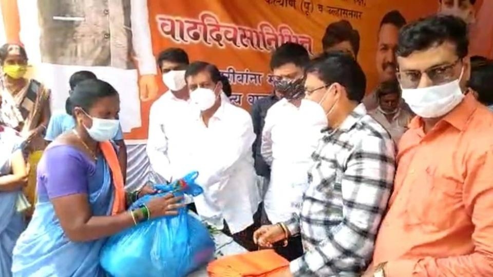Distribution of birthday kits to the poor and needy