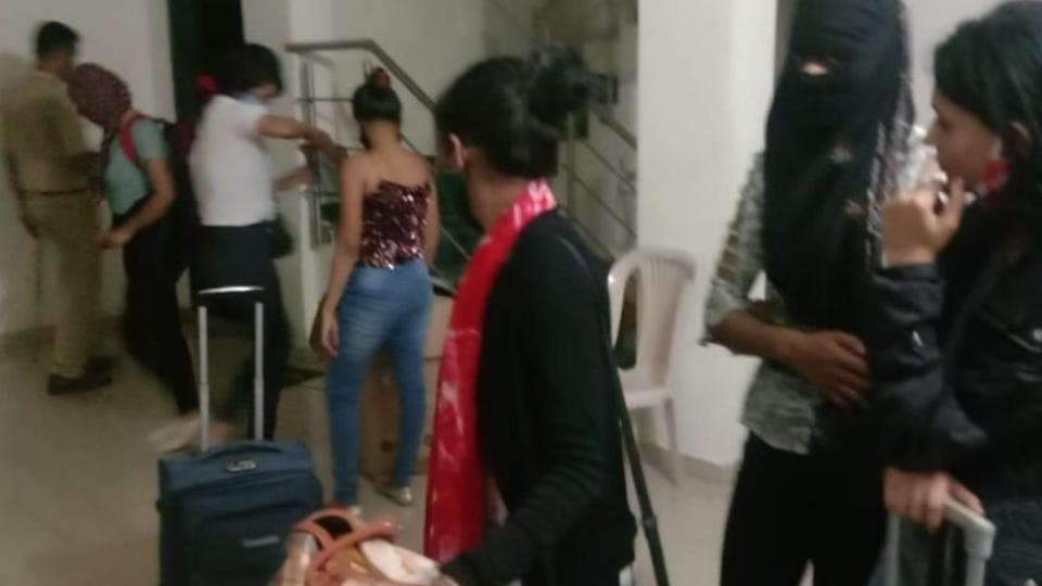 Pune Rural Police Raided Dance Party
