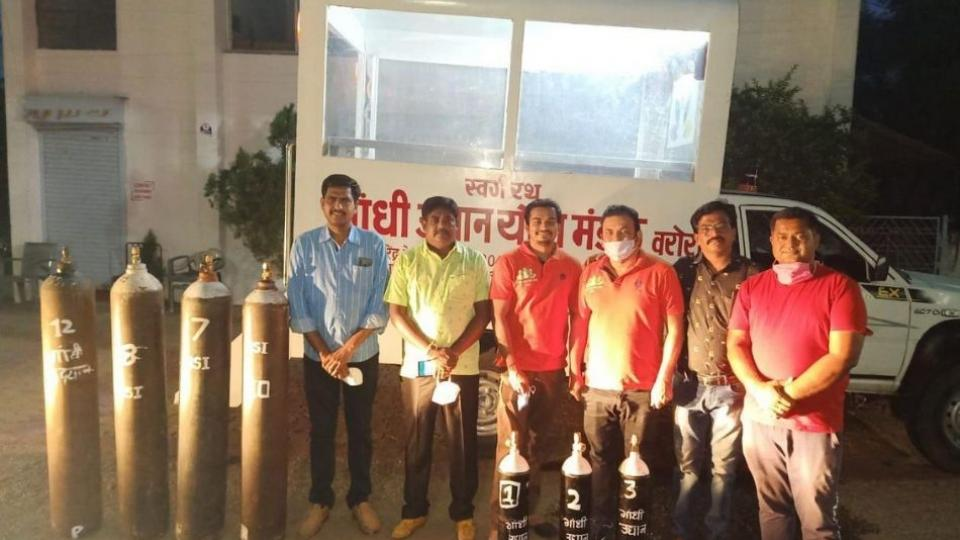 Unique initiative of the youth of Chandrapur