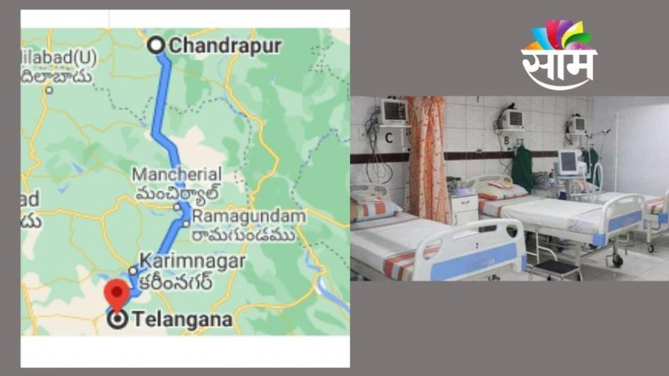 Corona Patient Travelled from Telangana to Chandrapur for Bed