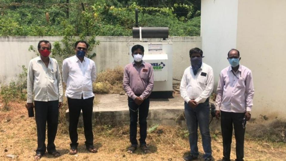 Generator Activated in Gangakhed Hospital